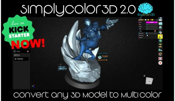SimplyColor3D 2.0: Convert any 3D model to MultiColor