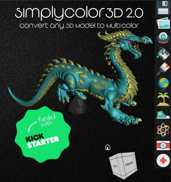 SimplyColor3D 2.0: Convert any 3D model to MultiColor - Unlimited Lifetime Subscription *Now Immediate Access*