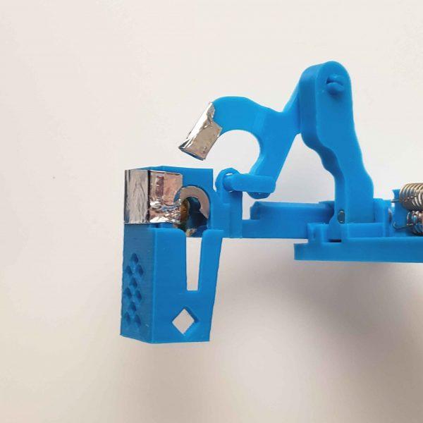 Prusa i3 mk - multicolor 3d printing purge block eliminator - open