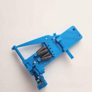 Prusa i3 mk - multicolor 3d printing purge block eliminator - assembled back